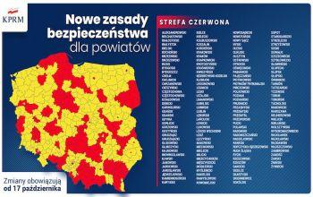 Piotrków i powiat w strefie czerwonej. Szkoły przechodzą na zdalne nauczanie