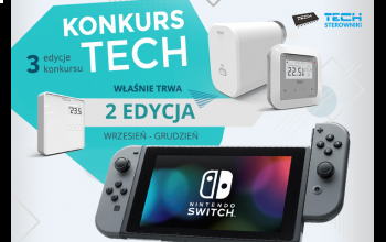 Nowa edycja konkursu firmy TECH Sterowniki – walcz o konsolę Nintendo Switch