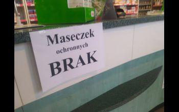 W Piotrkowie brakuje masek ochronnych?