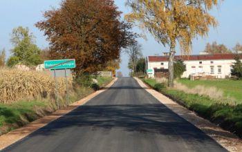 Gmina Wola Krzysztoporska: Droga Rokszyce – Oprzężów gotowa