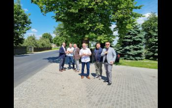 Zakończono przebudowę drogi powiatowej Biskupia Wola - Dalków