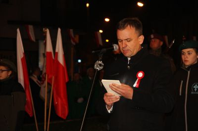 Piotrkowianie uczcili stulecie odzyskania przez Polskę niepodległości
