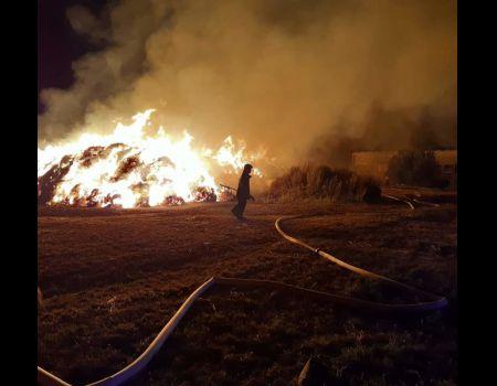 Pożar w gminie Moszczenica