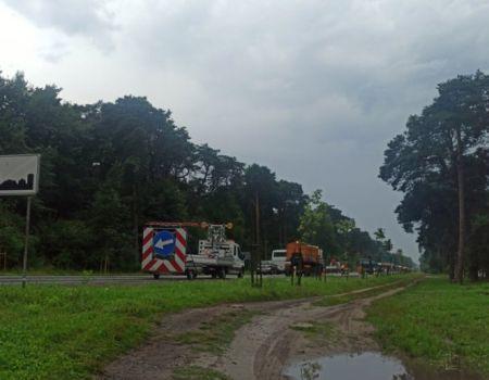 Olbrzymie korki z Piotrkowa do Sulejowa i Kielc z powodu remontu