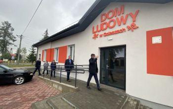 Gmina Wolbórz: Dom Ludowy w Goleszach gotowy