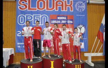 Wrócili ze Słowacji z medalami