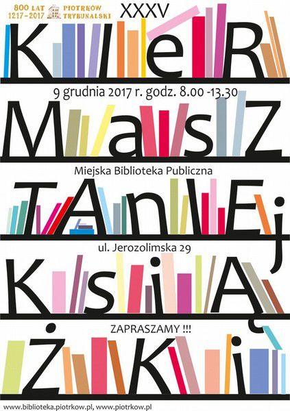 W sobotę Kiermasz Taniej Książki