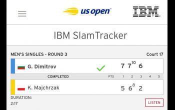 Kamil Majchrzak odpadł w III rundzie US Open