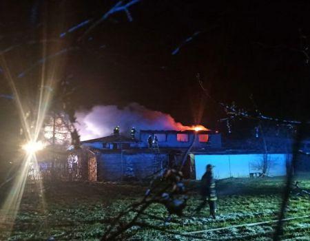 Pożar w Moszczenicy