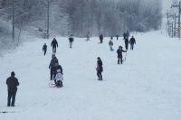 Zimowe szaleństwo na górze Kamieńsk