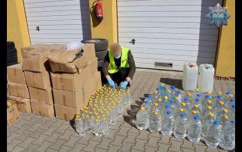 1300 litrów alkoholu na walkę z COVID-19