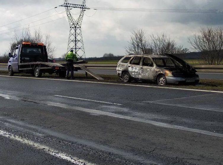 "Na ""gierkówce"" spalił się samochód"