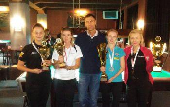 Bilardziści z Rękoraja z kolejnymi trofeami