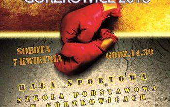 Bokserzy po raz pierwszy w Gorzkowicach