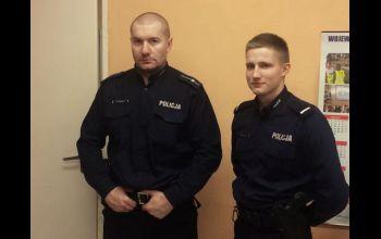 Zdążyli w ostatniej chwili. Policjanci z Gorzkowic uratowali niedoszłego samobójcę