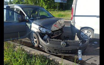 Cztery auta zderzyły się na dk12