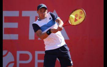 Piotrkowskiemu tenisiście we Włoszech puściły nerwy