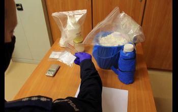 Kilogramy amfetaminy schował w... lodówce