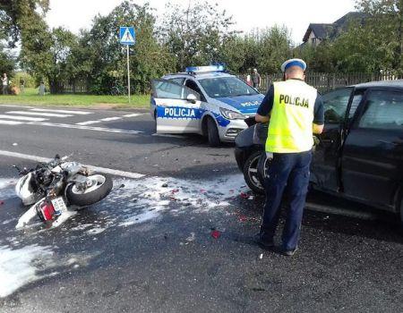 Śmierć motocyklisty w Prymusowej Woli