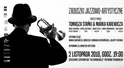 Pamięci Stańki i Karewicza. Zaduszki Jazzowo-Artystyczne w Piotrkowie
