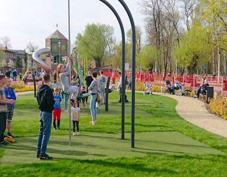 Otwarto Park Bulwary w Tomaszowie Mazowieckim