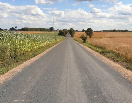 Nowa droga dzięki współpracy gmin Grabica i Moszczenica