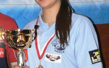 Anita Sochacka z UKS Dragon Srock podwójną mistrzynią Polski