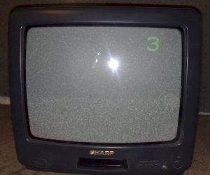 Telewizor SHARP 14 cali bez pilota - 10zł