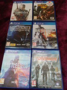 Zestaw 6 gier na PS4