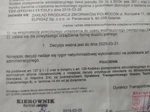 Butla lpg 33.5 L+papiery 2025