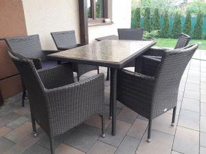 Stół ogrodowy-blat z monet + 6 krzeseł gratis!...