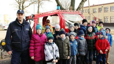 Gmina Grabica: Strażackie atrakcje podczas ferii