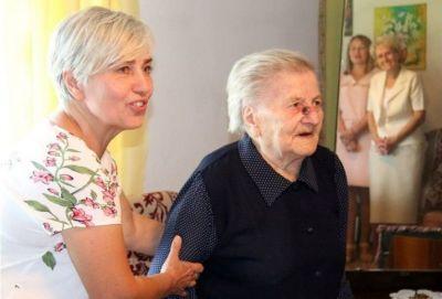 Mieszkanka Borowej w gminie Wola Krzysztoporska skończyła 100 lat