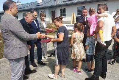 Nowe mieszkania w gminie Wolbórz mają już właścicieli