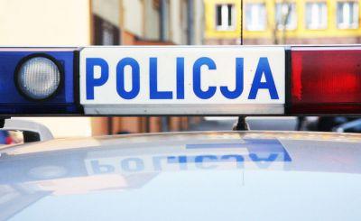 Wypadek w Rzgowie. Droga jest zablokowana