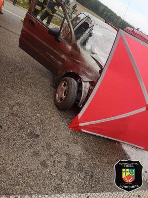 Śmiertelny wypadek na S8. Matiz jechał pod prąd