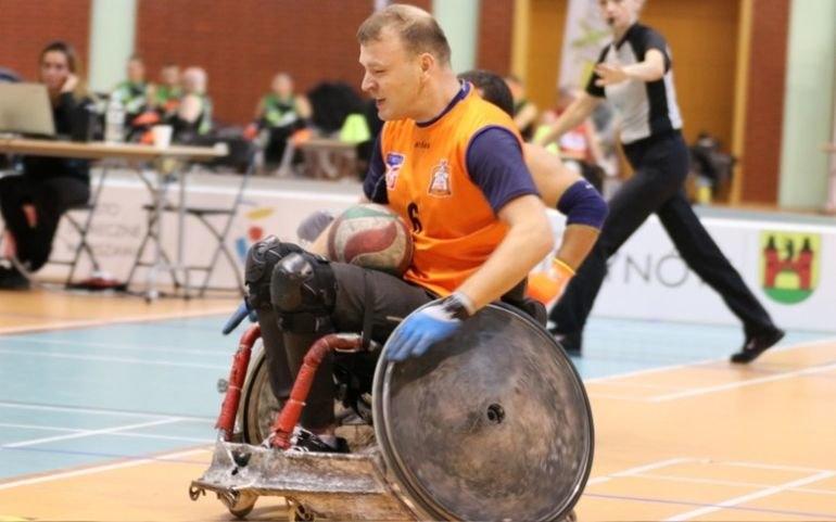 Rugby na wózku? Choroba nie musi być przeszkodą