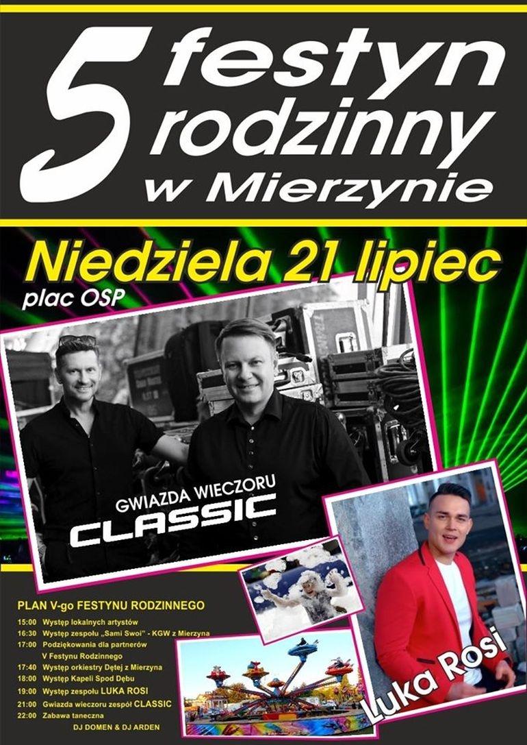 W niedzielę V Festyn Rodzinny w Mierzynie