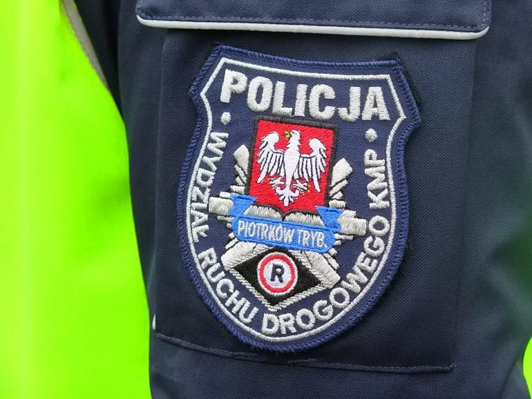 Wypadek na A1 pod Piotrkowem