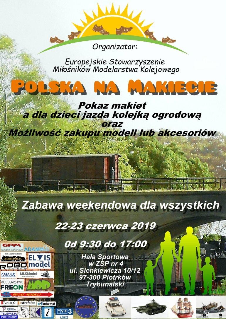 W weekend pokaz makiet i jarmark modelarski w ZSP 4