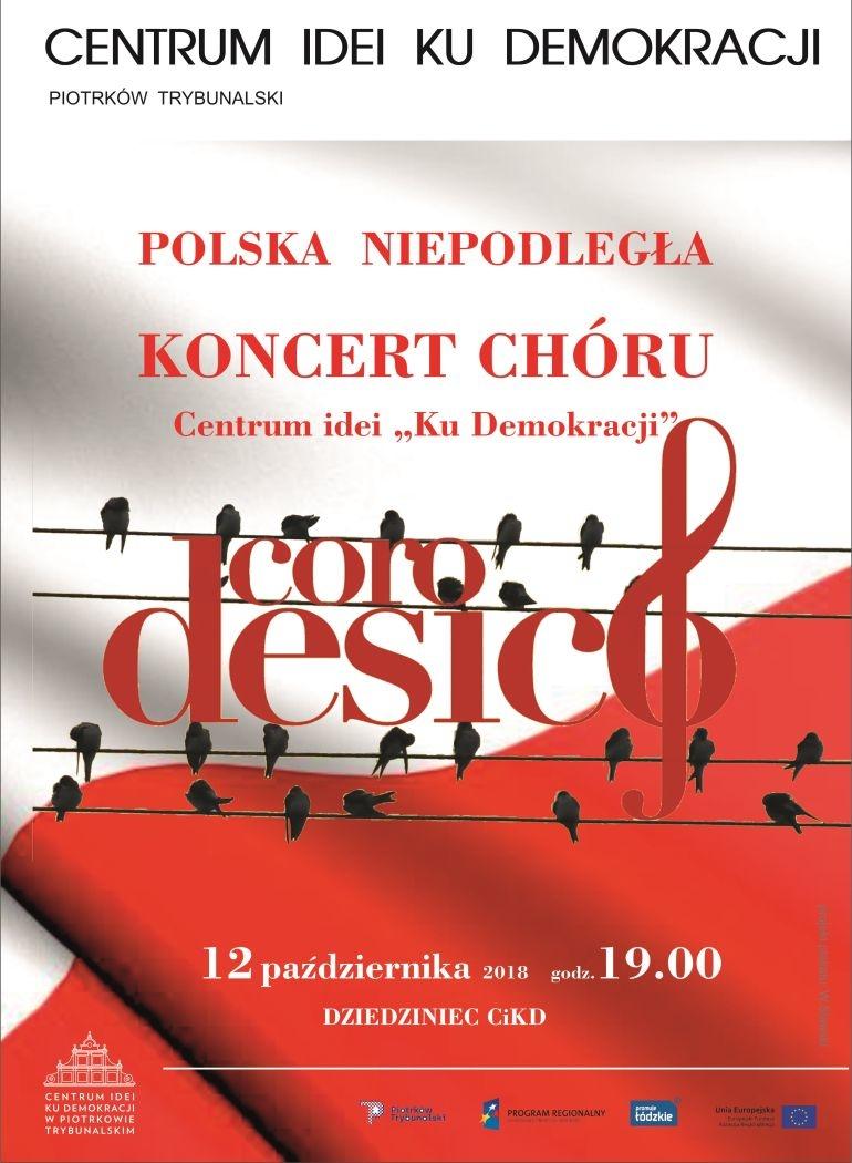 "Koncert chóru w Centrum Idei ""Ku Demokracji"""