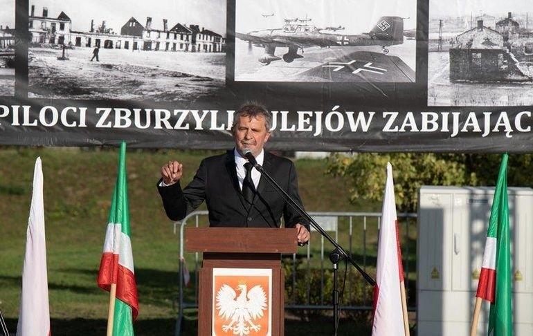 """""""Strat w ludziach nie sposób wycenić!"""" Burmistrz Sulejowa o reparacjach wojennych"""
