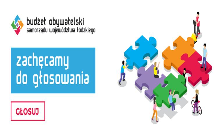 Głosuj na projekty do Budżetu Obywatelskiego Województwa Łódzkiego