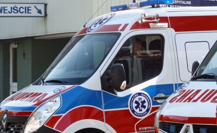 Jedna osoba ranna w wypadku w Jeżowie