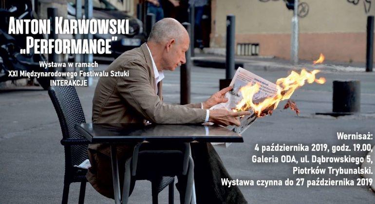 """""""Performance"""" A. Karwowskiego w ramach Interakcji"""