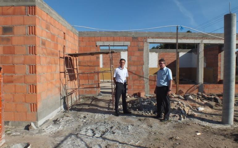 Przebudowa strażnicy w gminie Aleksandrów