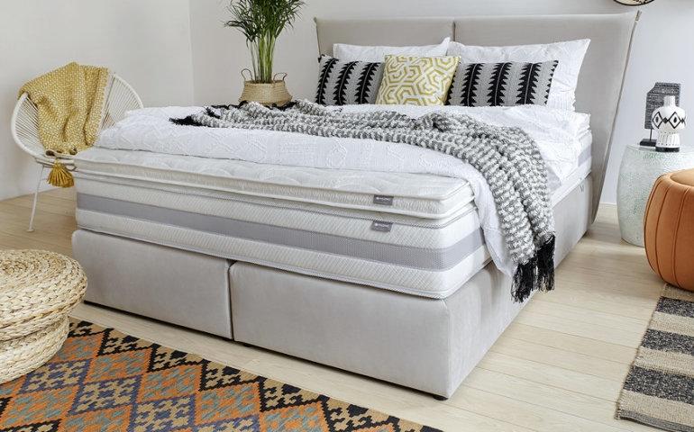 Łóżko kontynentalne - modne rozwiązanie do Twojej sypialni