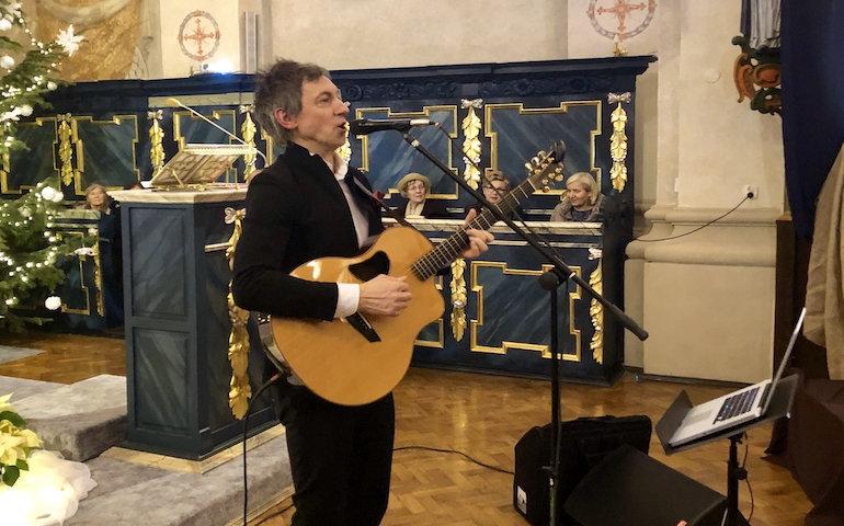 Maciej Miecznikowski zaśpiewał dla piotrkowian