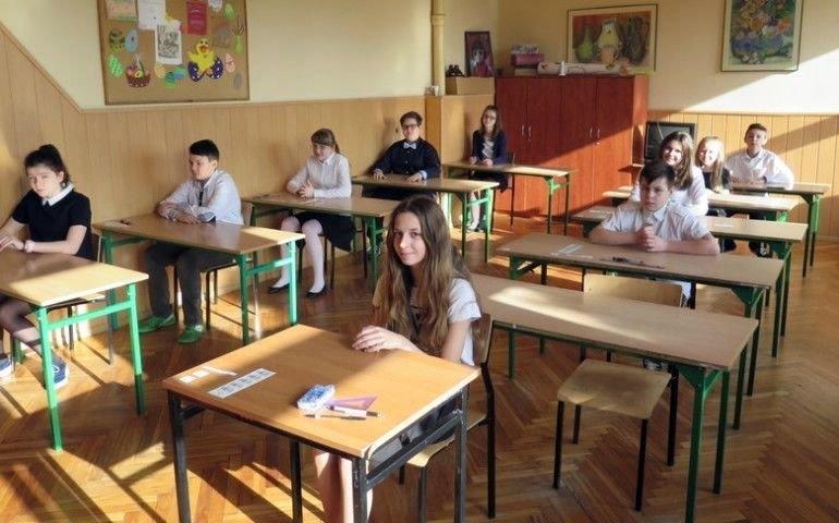 Ósmoklasiści przystąpili do egzaminu