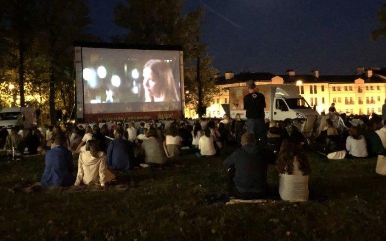 Ruszyło kino letnie w Piotrkowie